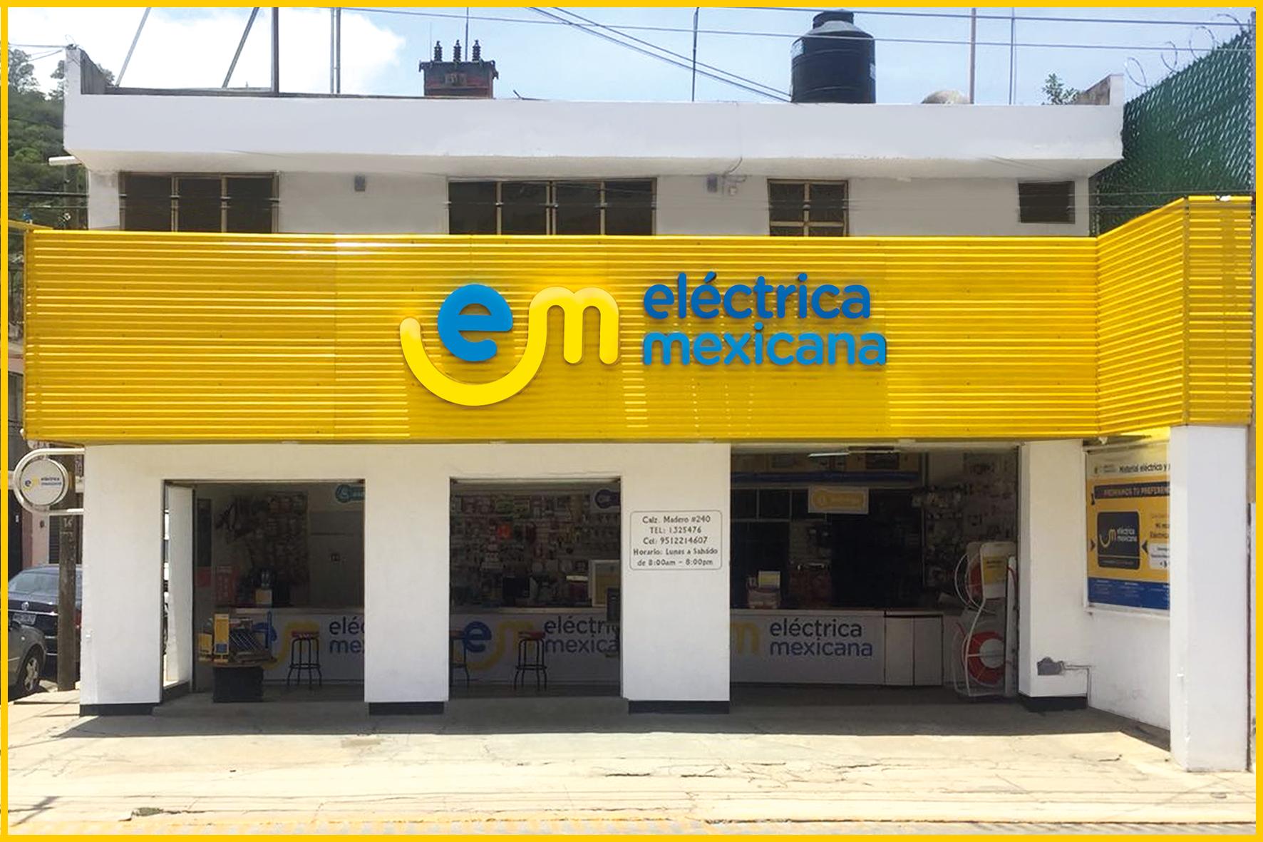 sucursal madero eléctrica mexicana